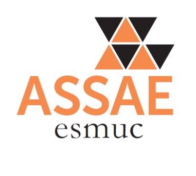 logotip Assae blanc